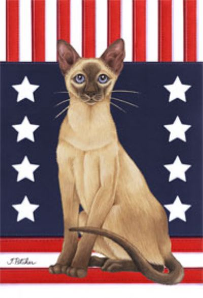Siamese Cat Flag Patriot Furrypartners