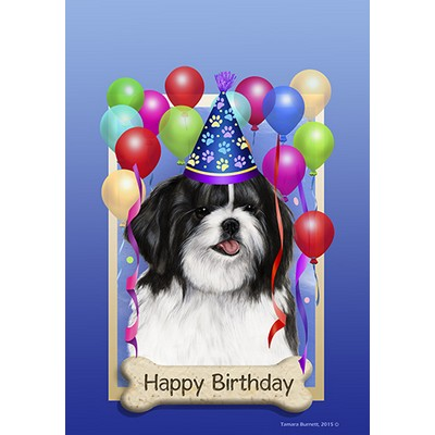 Image result for happy birthday shih tzu dogs