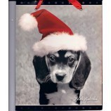 Beagle Puppy Holiday Gift Bag