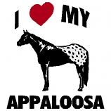 I (Heart) My Appaloosa Decal