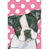 Boston Terrier Decorative Flag