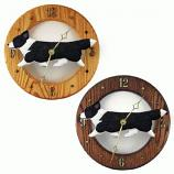 Welsh Corgi Cardigan DIG Oak Wall Clock