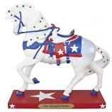 Star Spangled Rodeo Painted Pony Figurine